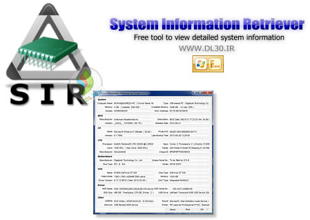 System Information Retriever