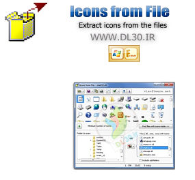 Icons from file 5.05 portable