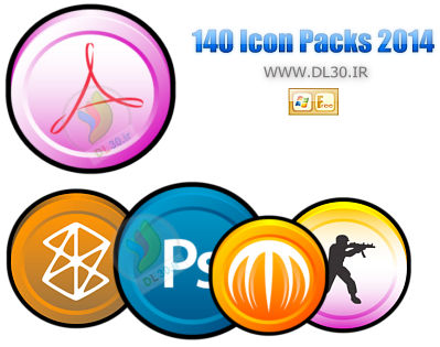 140 Icon Packs 2014