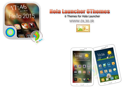 Hola Launcher 6Themes